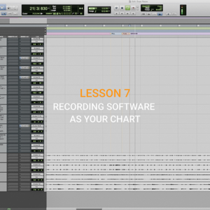 LESSON 7 – Recording software as your chart